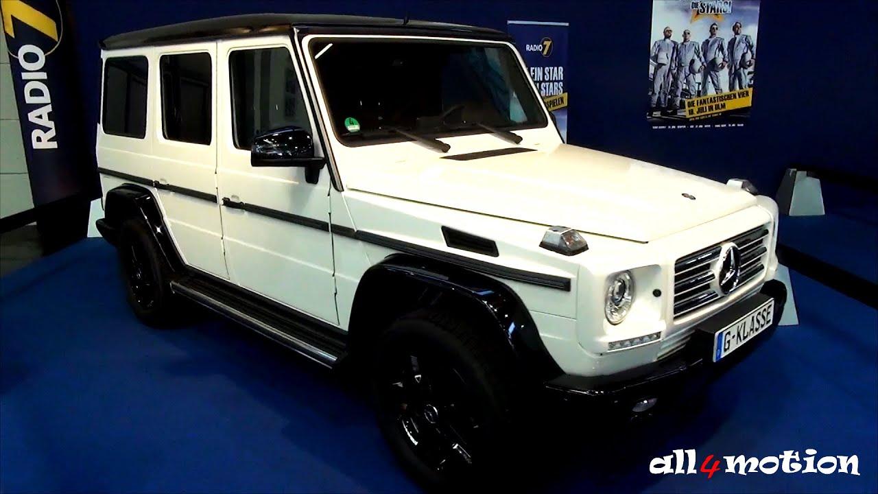 Mercedes benz g350 bluetec g class g wagon 4x4 white black for Mercedes benz g class black