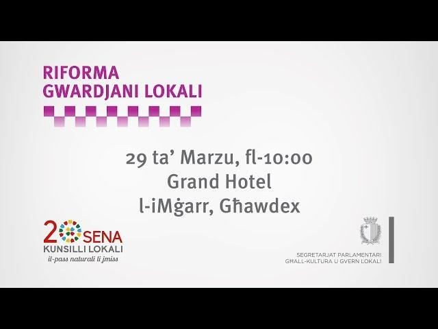 Riforma Gwardjani Lokali - Riklam - it-Tielet Konferenza