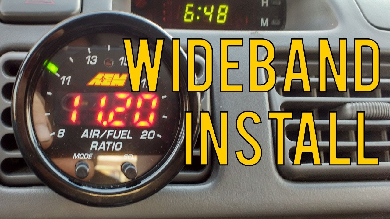 small resolution of how to install wideband oxygen sensor aem x series
