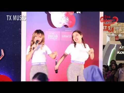 Cupi Cupita & Prita Oziel ( DUO GOBAS ) Perform Acara Pesbukers Mencari Bakat
