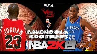 PS4 - NBA 2K15 : Michael Jordan VS Kevin Durant [Gameplay Ita]
