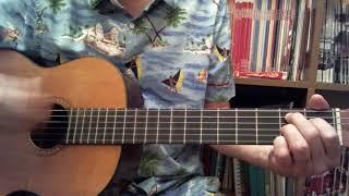 Una rotonda sul mare (F. Bongusto) - Tutorial per chitarra