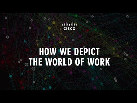 How We Depict the World of Work