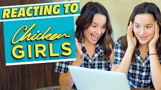 Reacting to Chicken Girls! | Annie LeBlanc