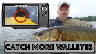 How To Catch More Walleyes Using Sonar - Humminbird Helix