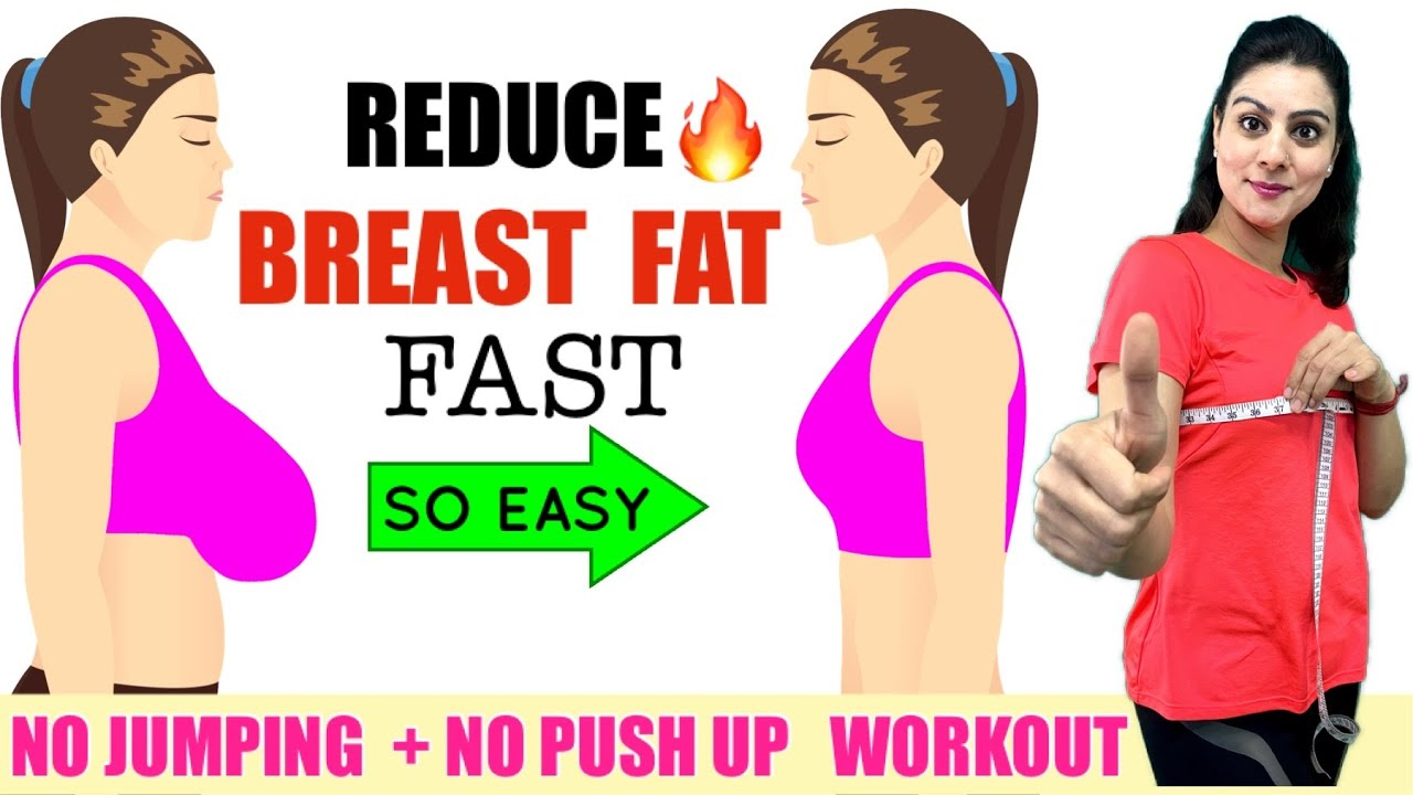 Reduce Breast Fat FAST Naturally🔥 Lose Breast Size in 7 Days  Easy  Chest/ Breast Fat Loss Workout