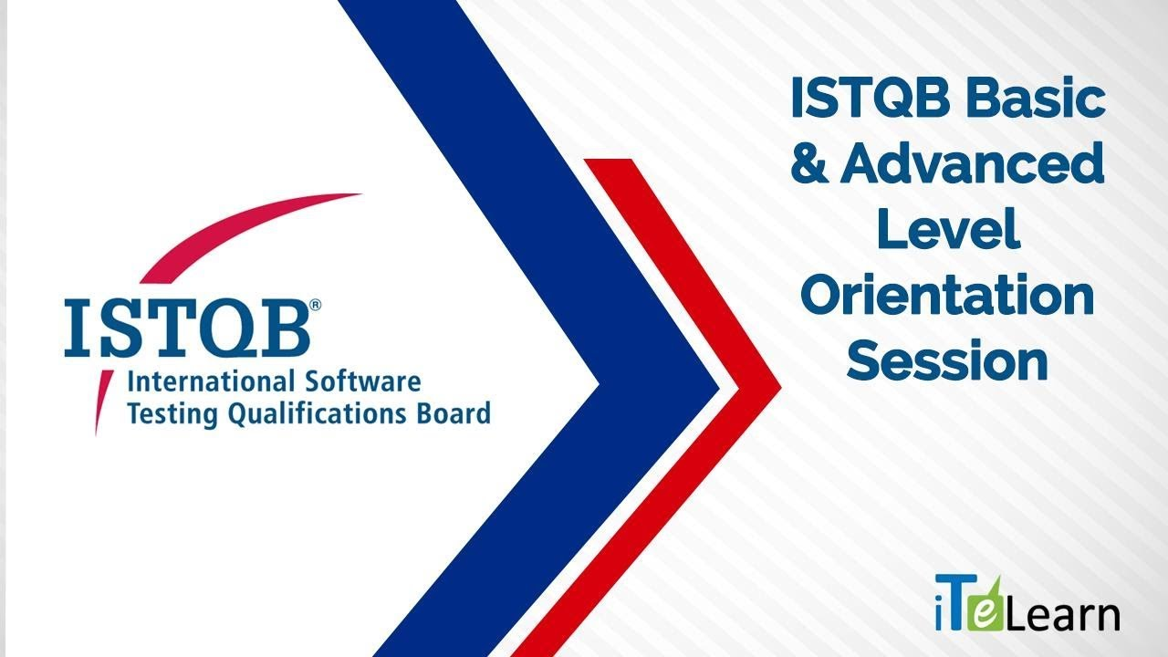 Istqb basic advanced level orientation session itelearn youtube istqb basic advanced level orientation session itelearn 1betcityfo Image collections