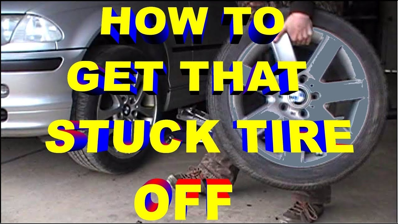 how to get that stuck frozen rusted tire off during winter to summer tire change youtube. Black Bedroom Furniture Sets. Home Design Ideas