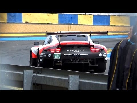 Porsche 911 RSR Extremely Loud Sound ! (New exhaust)