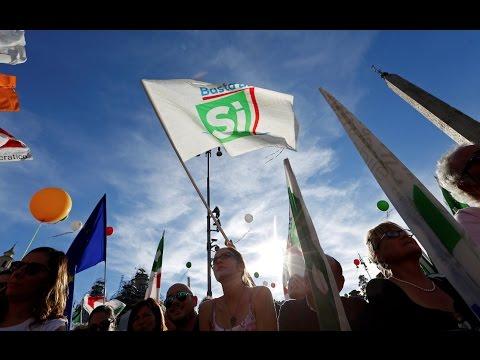 Italian vote could amend post-war constitution