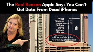 The Real Reason Apple Says Wet iPhone Data Recovery is Impossible