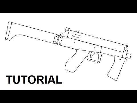 Tutorial full auto mag fed rubber band gun youtube tutorial full auto mag fed rubber band gun malvernweather Image collections