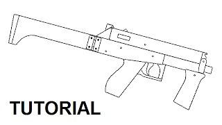 Tutorial - Full Auto Mag Fed Rubber Band Gun