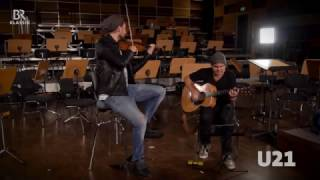 David Garrett & Marcus Wolf spielen 'Midnight Waltz' live  BR KLASSIK