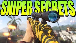 5 SNIPER SECRETS in Modern Warfare (They DON'T Want You to Know) | Tips to Improve your Sniping