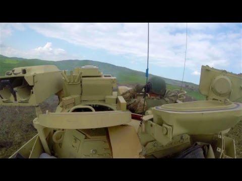 US Army Bradley Fighting Vehicle - GoPro