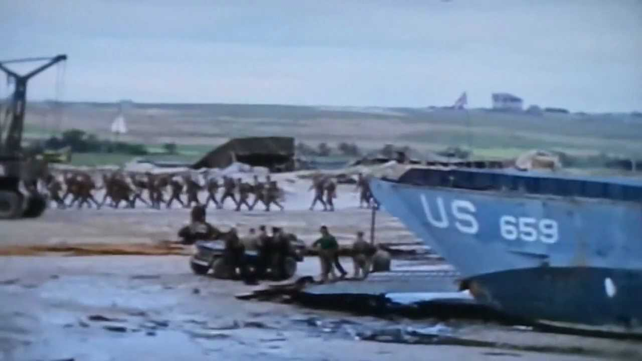 WWII in Color- D-Day