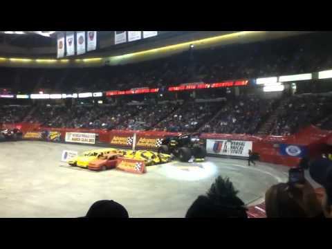 Monster Jam Times Union Center 2011