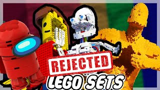 The 10 Rejected Lego Sets