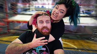 I Tried Pro Wrestling in Japan (ft. Ladybeard)