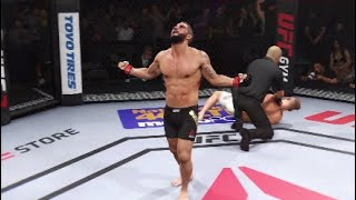 UFC 2 - Intense Chad Mendes vs Conor Mcgregor fight