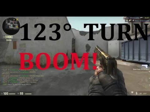 123° TURN (Counter-Strike Global Offensive) De_Dust 2