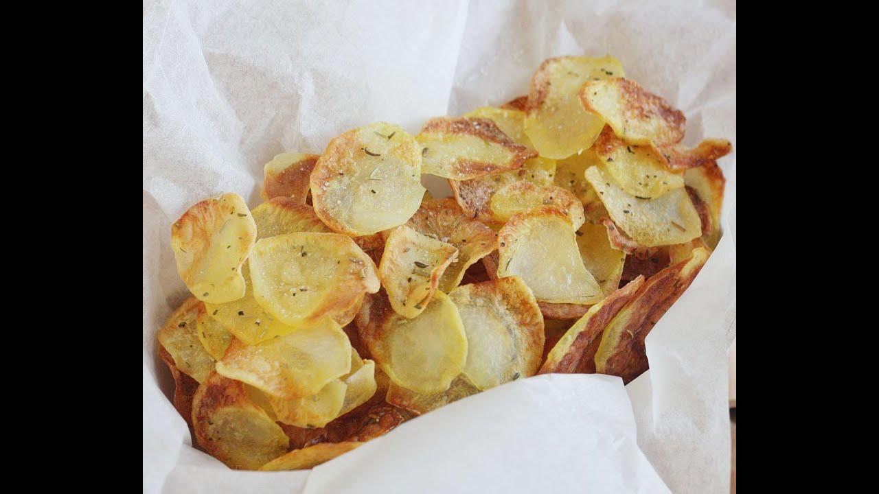 Patatine Chips Leggere - YouTube