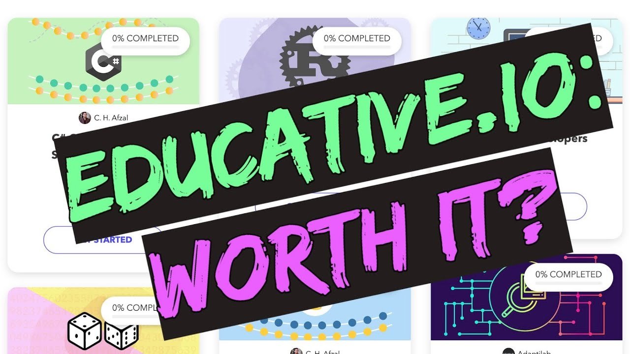 Educative Io Review New Software Education Platform Youtube