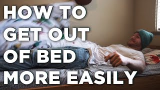 How To Get Out of Bed More Easily | Wake Up Early with ENERGY