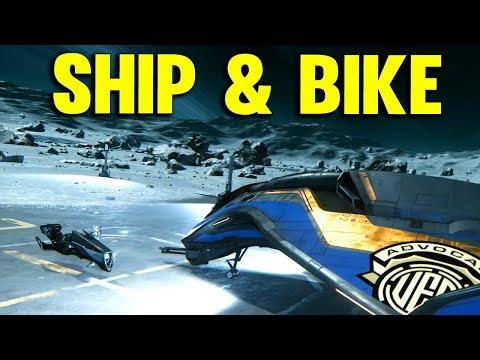 Star Citizen 3.0 | SHIP ENCOUNTERS BIKE | Star Citizen Alpha Gameplay #42