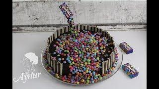 Farkli Doğum Günü Pastası I Çocuklar İçin Doğum Günü Pastası I Smarties Kuchen