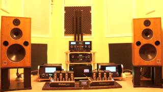 Harbeth M40.1 with McIntosh MC 601 + C2300 + MC 275 + MCD 500