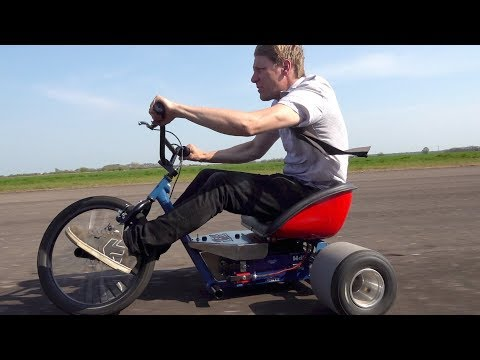 20,000 Watt Drift Trike