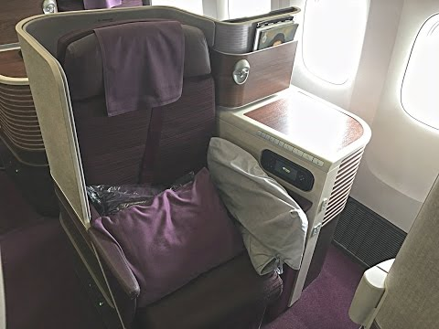 'THAI TERRIFIC' - Thai Airways long-haul Business Class [by inflightexpert]