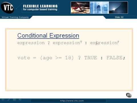 Conditional Expressions - 13 - Chapter 03