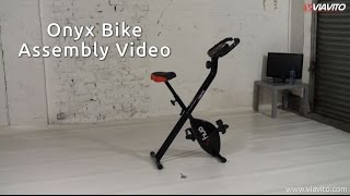 Viavito Onyx Folding Exercise Bike - Assembly Guide