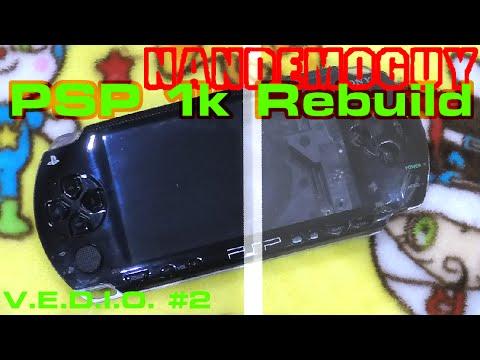 PSP Teardown & Rebuild SONY
