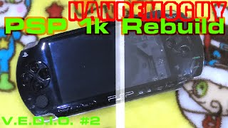 PSP Teardown & Rebuild SONY