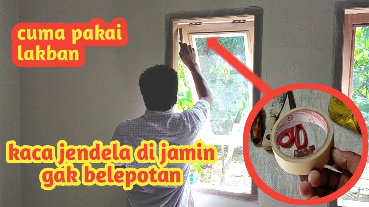 cara mudah mengecat jendela agar tidak belepotan