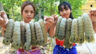 Yummy cooking Mantis Shrimp with coconut recipe - Cooking skill