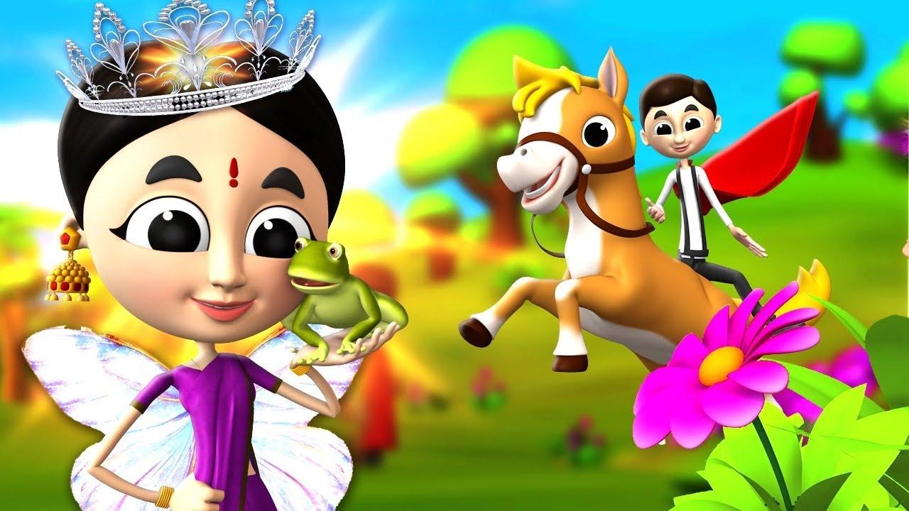 मेंढक और राजकुमारी - Frog and Princess 3D Animated Hindi Fairy Tales Moral Stories   JOJO TV Hindi