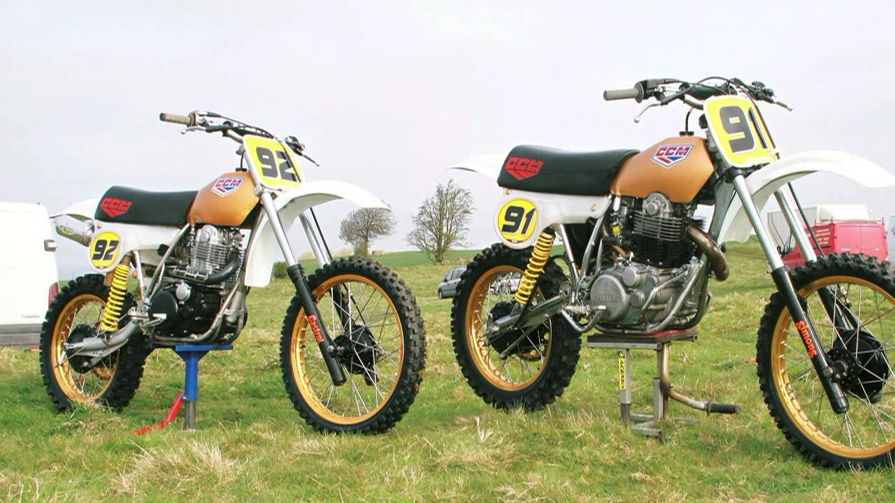 CCM/Yamaha + Honda XR 500 - YouTube
