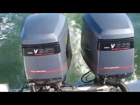 Twin yamaha ox66 225 startup video doovi for Yamaha ox66 for sale craigslist