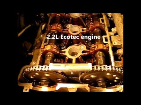 A detailed look at one cycle of valve, piston, cam and crank timing
