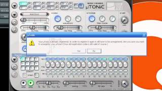 Microtonic registration tutorial with Reg Key