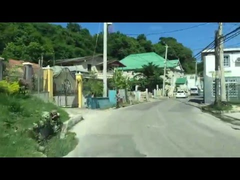 Riding thru Lucea!! The capital of the parish Hanover,Jamaica!!