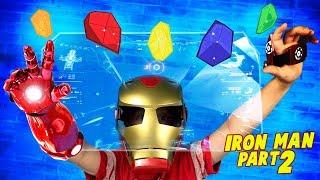 Infinity Stones! Avengers Infinity War Movie Gear Test: Iron Man Pt. 2!