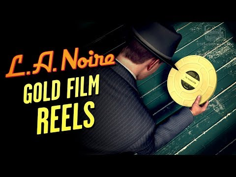 LA Noire Remaster - Gold Film Reels Locations [Hollywoodland Trophy / Achievement]
