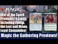 MTG War of the Spark Previews: 9 Cards Including Fblthp, the Lost and Mowu, Loyal Companion