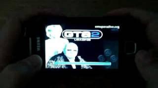 GTA 2 running in Samsung Galaxy 3 with FPSe